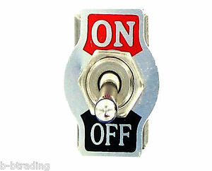Heavy Duty 20a 125v 15a 250v Spst 2 Terminal On Off Toggle Switch With Plate