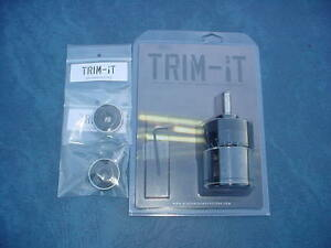 Trim-It Case Trimmer w two Caliber Inserts 308 .223 . New in the box