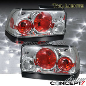For 1993 1997 Toyota Corolla Tail Lights Chrome Style Pair
