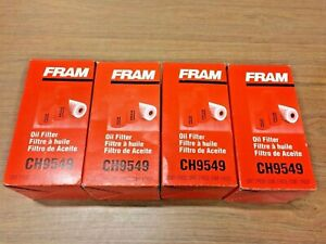 4 Fram Extra Guard Ch9549 Engine Oil Filter For 2003 2010 Ford 6 0 6 4 Diesel