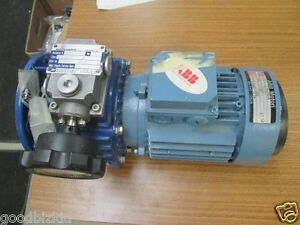 Motovario Motor With Reduction Gear Box