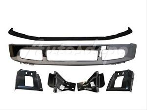 For 2008 2010 Ford F250 F350 Front Bumper Chrome Up Pad Mounting Plate Bracket