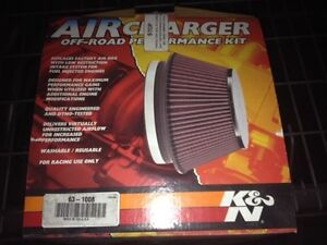 K n 63 1008 High Performance Red Intake Kit Exhaust