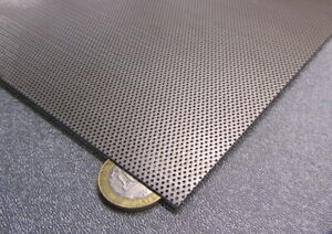 Perforated Staggered Steel Sheet 024 Thick X 24 X 24 033 Hole Dia
