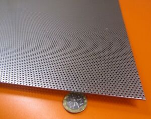 Perforated Staggered Steel Sheet 048 Thick X 24 X 24 062 Hole Dia