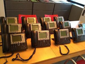 Lot 13 Cisco 7940 Series Ip Office Business Phones