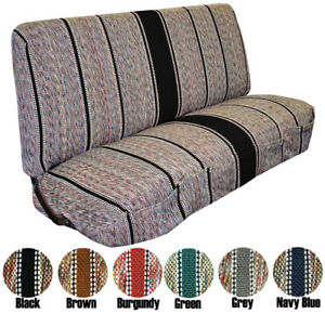 1940 1991 Ford Full Size Truck Bench Saddleblanket Universal Seat Covers