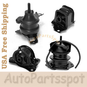 Trans Engine Motor Mount Kit For 98 02 Honda Accord 2 3l Auto Trans G030