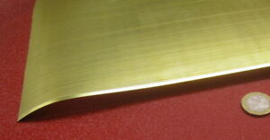 Brass Perforated Extra Thin Sheet 016 Thick X 24 X Per Ft 016 Hole Dia