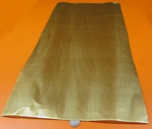Brass Perforated Extra Thin Sheet 016 Thick X 24 X Per Ft 045 Hole Dia