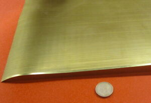 Brass Perforated Staggered Sheet 016 Thick X 24 X Per Ft 016 Hole Dia