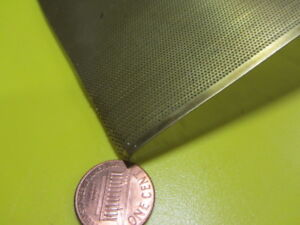 Brass Perforated Staggered Sheet 016 Thick X 24 X Per Ft 020 Hole Dia