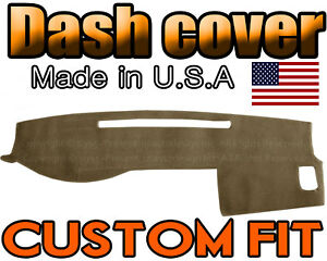 Fits 2005 2015 Toyota Tacoma Dash Cover Mat Dashboard Pad Taupe