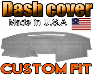 Fits 2007 2011 Toyota Camry Dash Cover Mat Dashboard Pad Light Grey