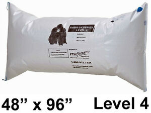 2 Gorilla Dunnage Airbags level 4 Reuaseable Packing Material