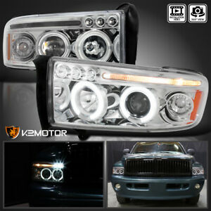 1994 2001 Dodge Ram 1500 94 02 Ram 2500 3500 Projector Headlights Left Right