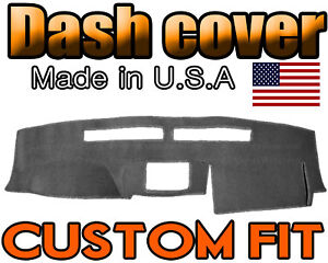 Fits 2005 2006 Nissan Frontier Dash Cover Mat Dashboard Pad Charcoal Grey