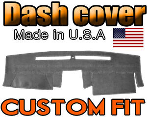 Fits 2007 2018 Nissan Frontier Dash Cover Mat Dashboard Pad Charcoal Grey