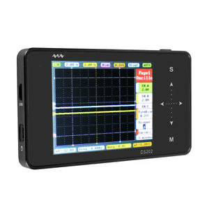 New Mini Dso203 Digital Handheld Oscilloscope 4 Channel 72 Msps Us Shipping
