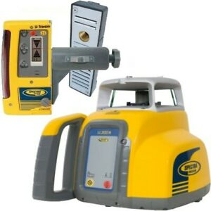 Spectra Trimble Ll300n 10 Self Leveling Laser Level With Cr600 Receiver