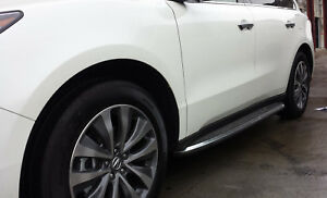 Oe Factory Style Aluminum Running Boards Side Steps For 2014 2019 Acura Mdx