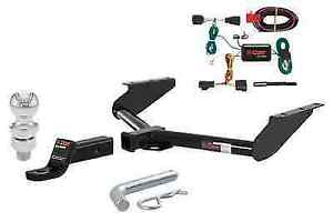 Curt Class 3 Trailer Hitch Tow Package W 2 Ball Diameter For Jeep Liberty