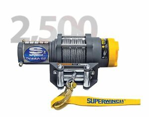 Superwinch 1125220 Terra 25 3 16 x50 Electric Winch W 2500 Lb Capacity