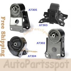 Auto Trans Engine Motor Mount Set For Infiniti I30 Nissan Maxima 3 0 3 5l G038