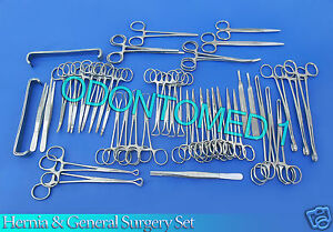 48 Piece Hernia Set General Surgery Medical Instruments Ds 995