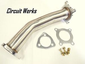 Audi A4 B7 Vw 2 0l 2 0t Fsi 06 07 08 Downpipe Front Turbo Down Pipe Catless Test
