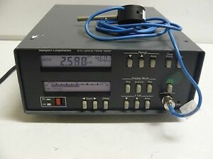 Newport 835 Optical Power Meter With 818 sl Photodiode Sensor
