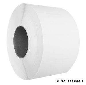 24 Rolls 4 X 2 Direct Thermal Zebra Fasson Labels 3 Inch Core 67k Labels 4x2