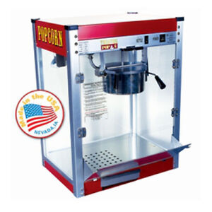 Paragon 6 Oz Theater Popcorn Machine Style Red Concession Snack 1106110