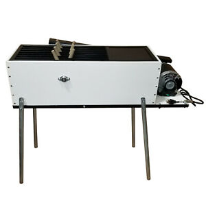 Dux Industries Deluxe Plucker Chicken Defeather Commercial Cleaning Machine