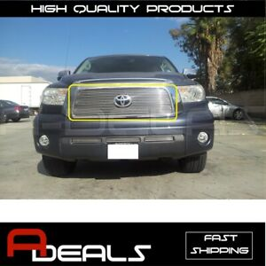 For Toyota Tundra 2007 2008 2009 Billet Grille Grill Insert Overlay Bolt On