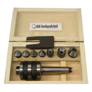 Mt2 Live Center Set Morse Taper 2mt Triple Bearing Lathe Medium Duty Cnc