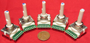 5 Pcs Bourns 6 Position Rotary Switch Continuous Rotation 360 Degree Sp6t St6