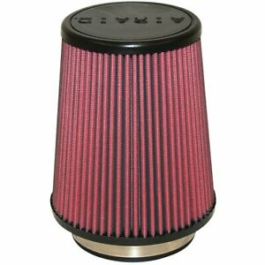 Airaid 700 458 Air Filter Element Conical Cotton Gauze Red 4 Diameter Inlet Ea