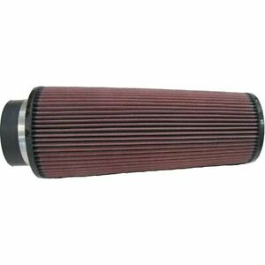 K N Air Filter Element Filtercharger Conical Cotton Gauze Red 4 Dia Inlet Ea