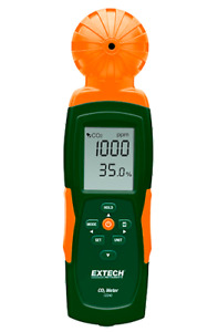 Co240 Extech Indoor Air Quality Carbon Dioxide co2 Meter