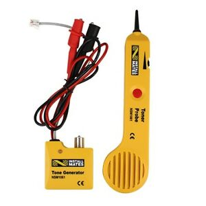 Tone Generator Amplifier Probe Tool Test Rj11 Cables Individual Wires