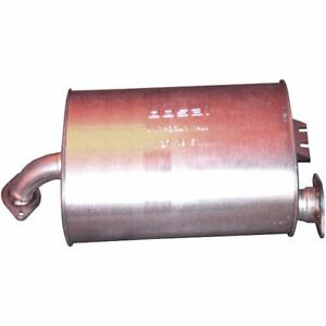Bosal Muffler New Oval For Isuzu Amigo Rodeo Sport 2001 2003 166 639