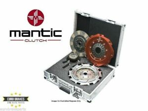 Mantic 9000 Twin Plate Ceramic Clutch Kit Ford Falcon Ba Bf Xr6 Turbo 4 0