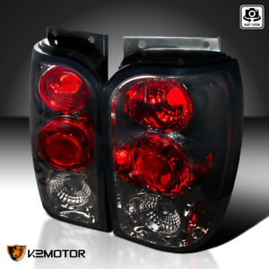 1998 2001 Ford Explorer Smoke Tinted Tail Lights Rear Brake Stop Lamps Pair