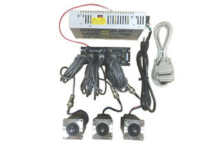 3 Axis Gecko G540 Kit With 381 Oz in Stpper Motor 48v 7 3a