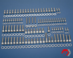 Bbc Big Block Chevy 348 409 V8 Stainless Steel Engine Bolt Kit 58 65 Chevy