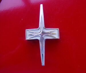 50 s 60 s Hood Grille Emblem Script Willy s Ford Chevy Plymouth Part 5715645