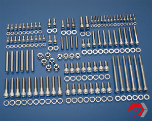 Bbf Big Block Ford 429 460 Stainless Steel Engine Bolt Kit Car F Series Truck