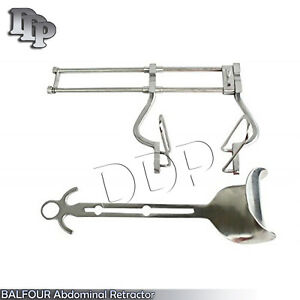 3 Balfour Retractor Surgical Veterinary 4 7 10