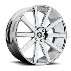 Dub 30 X 10 Shot Calla Car Wheel Rim 6x5 5 Part S120300077 30